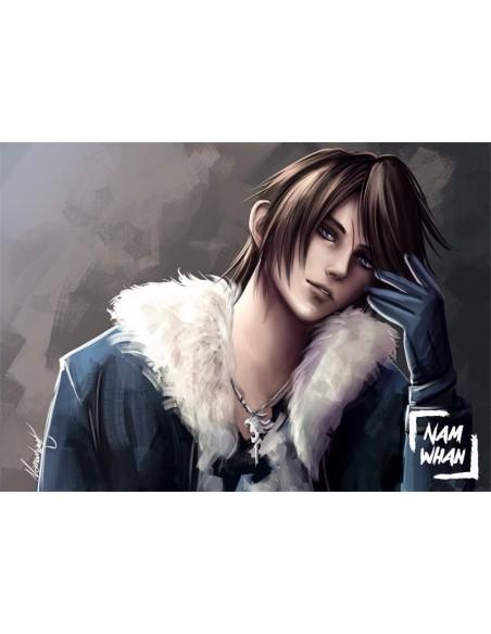 Squall Leonhart Final Fantasy Viii Poster Namwhan Store